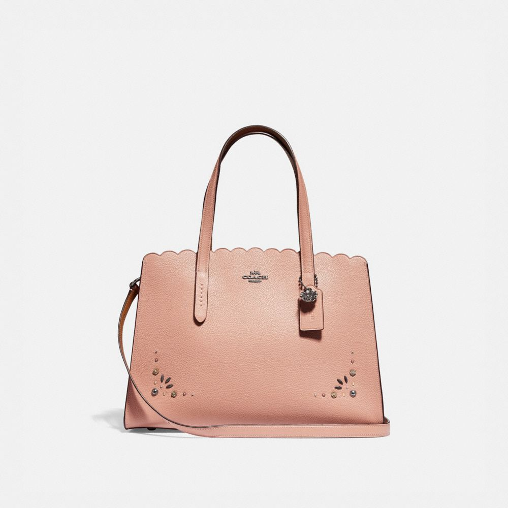 Charlie Carryall With Prairie Rivets Detail by Coach