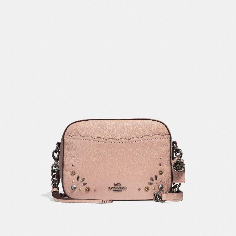 Coach Camera Bag With Prairie Rivet Details