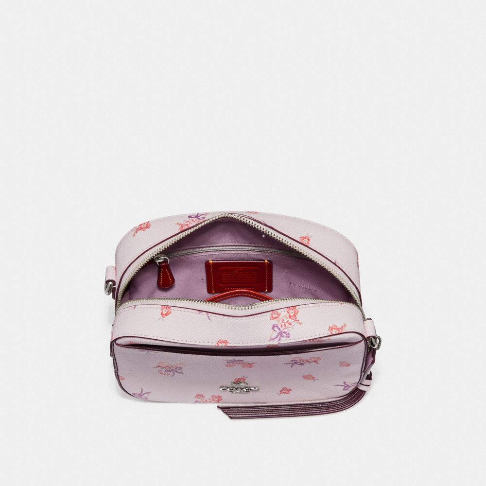 Coach Camera Bag With Floral Bow Print Alternate View 2