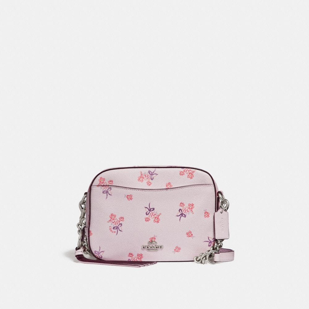 Coach Camera Bag With Floral Bow Print