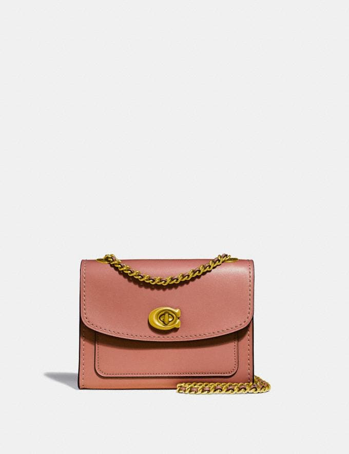 Coach Parker 18 Light Peach/Brass Women Collection Parker