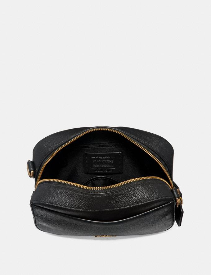 Coach Camera Bag Black/Light Gold New Women's New Arrivals Alternate View 2