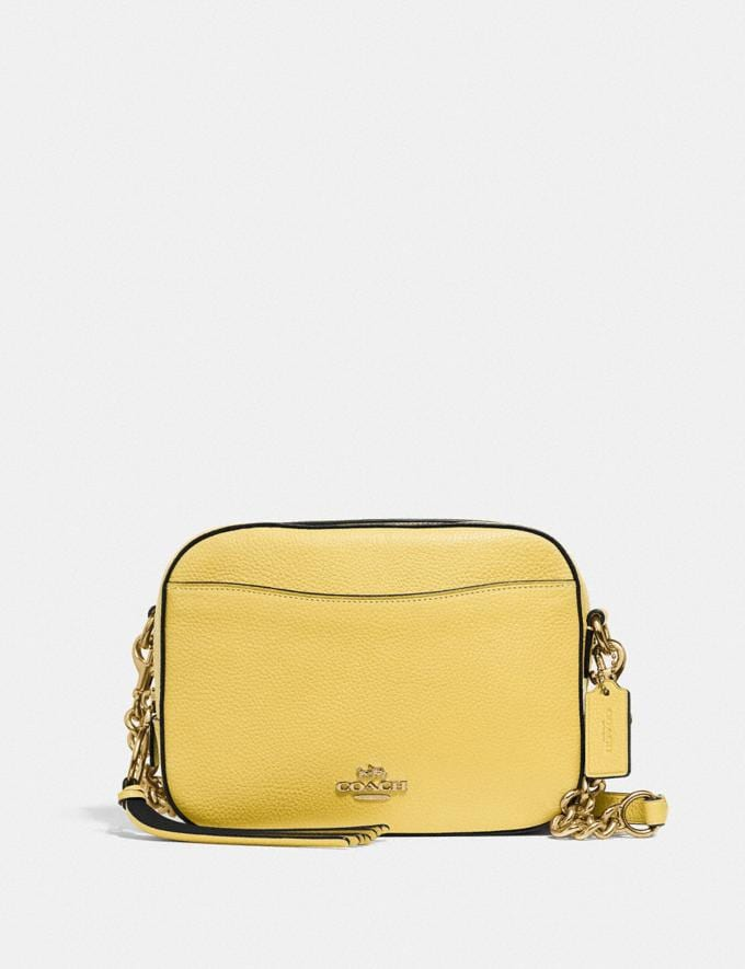 Coach Camera Bag Gd/Retro Yellow PRIVATE SALE For Her Bags