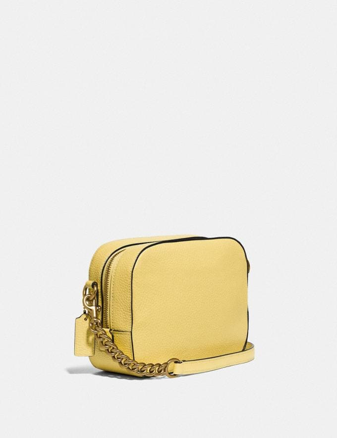 Coach Camera Bag Gd/Retro Yellow PRIVATE SALE For Her Bags Alternate View 1