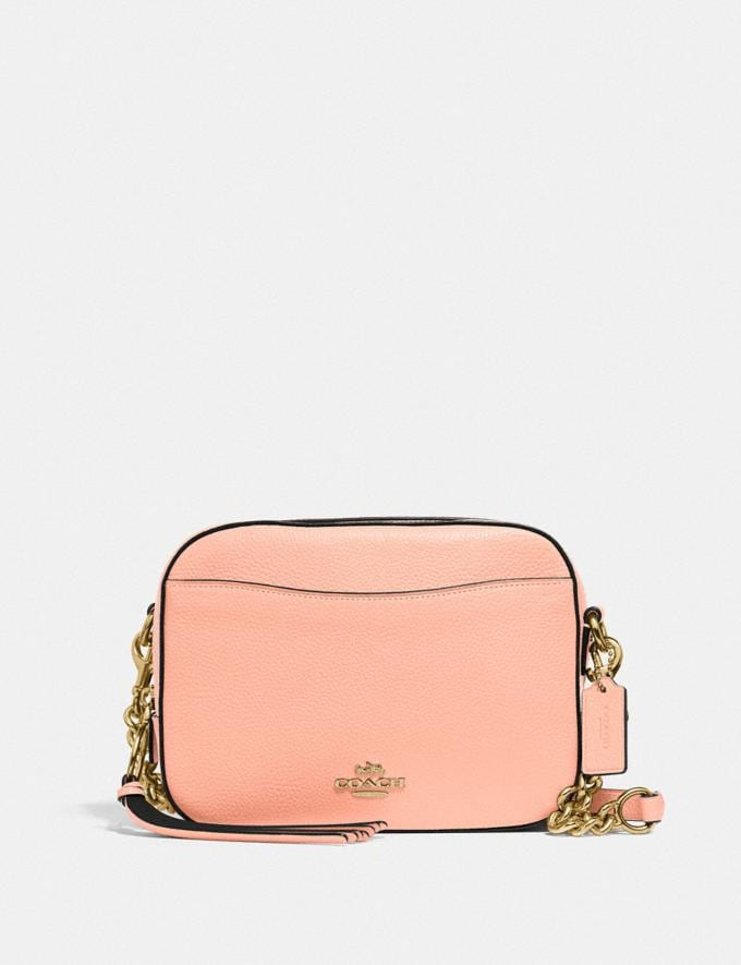 Coach Camera Bag Gd/Faded Blush New Women's New Arrivals Bags