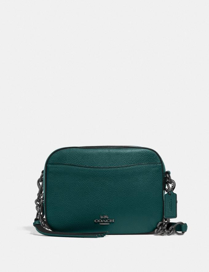 Coach Camera Bag Gm/Forest Women Bags Crossbody Bags
