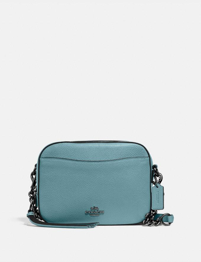 Coach Camera Bag Gd/Retro Yellow Women Bags Crossbody Bags