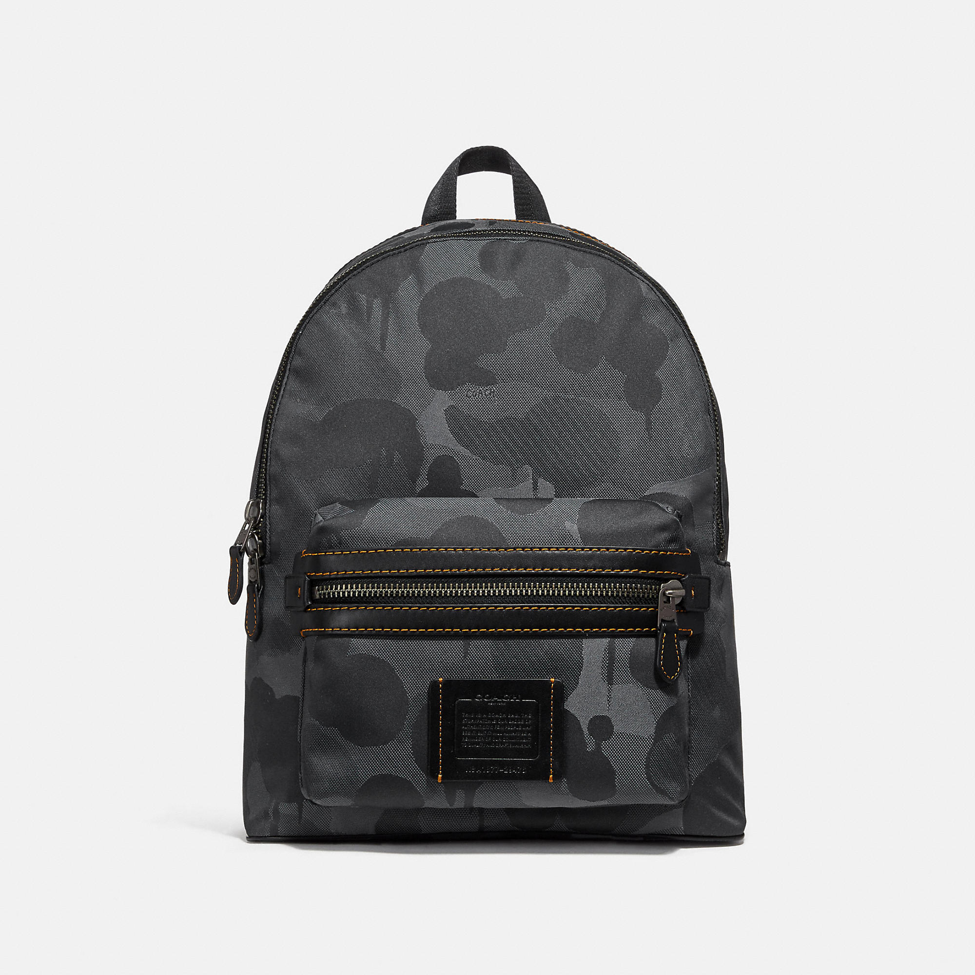 2a2b962a95cc Coach Academy Backpack With Wild Beast Print - Men S In Charcoal Black  Copper Finish
