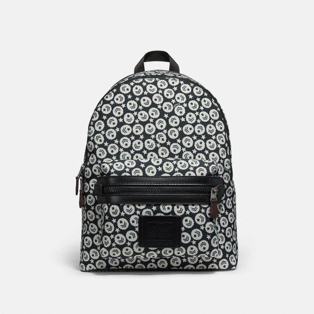 Coach Academy Backpack With Chevron Star Print