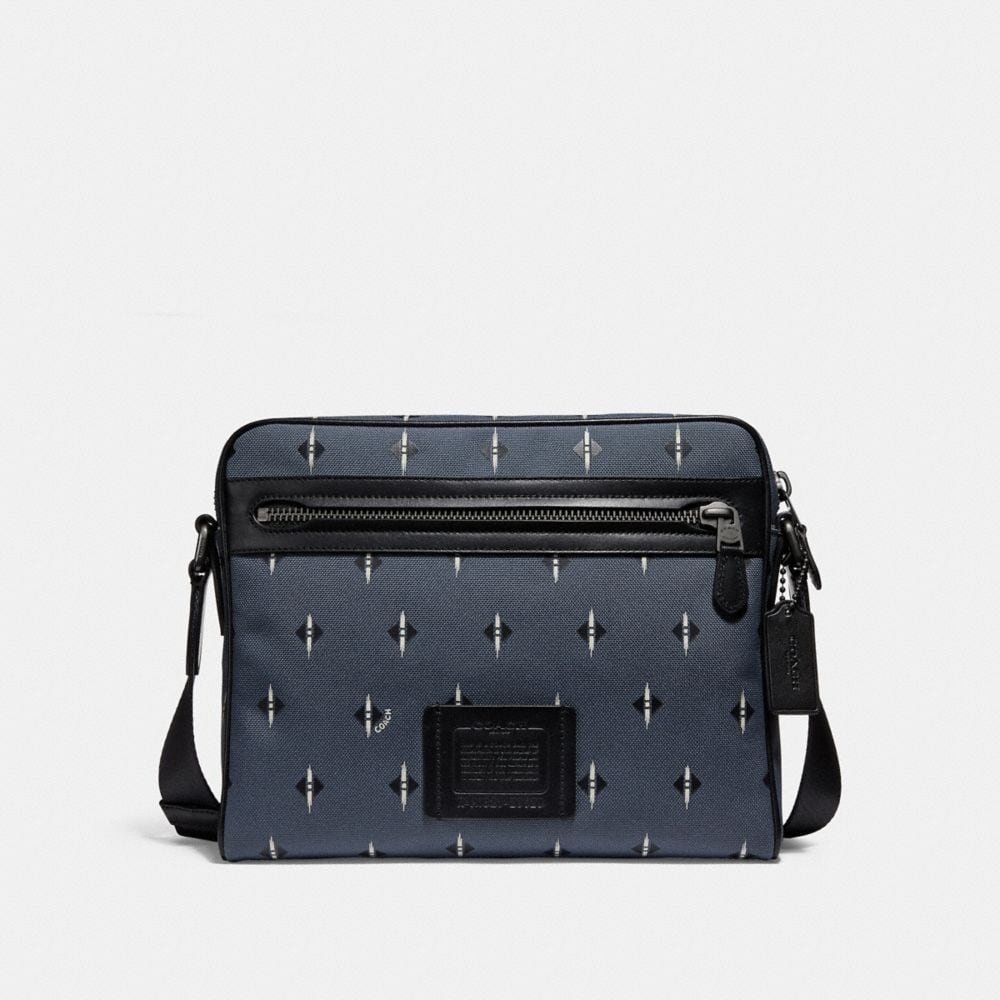 Coach Metropolitan Camera Bag in Cordura® Fabric With Ikat Geo Print