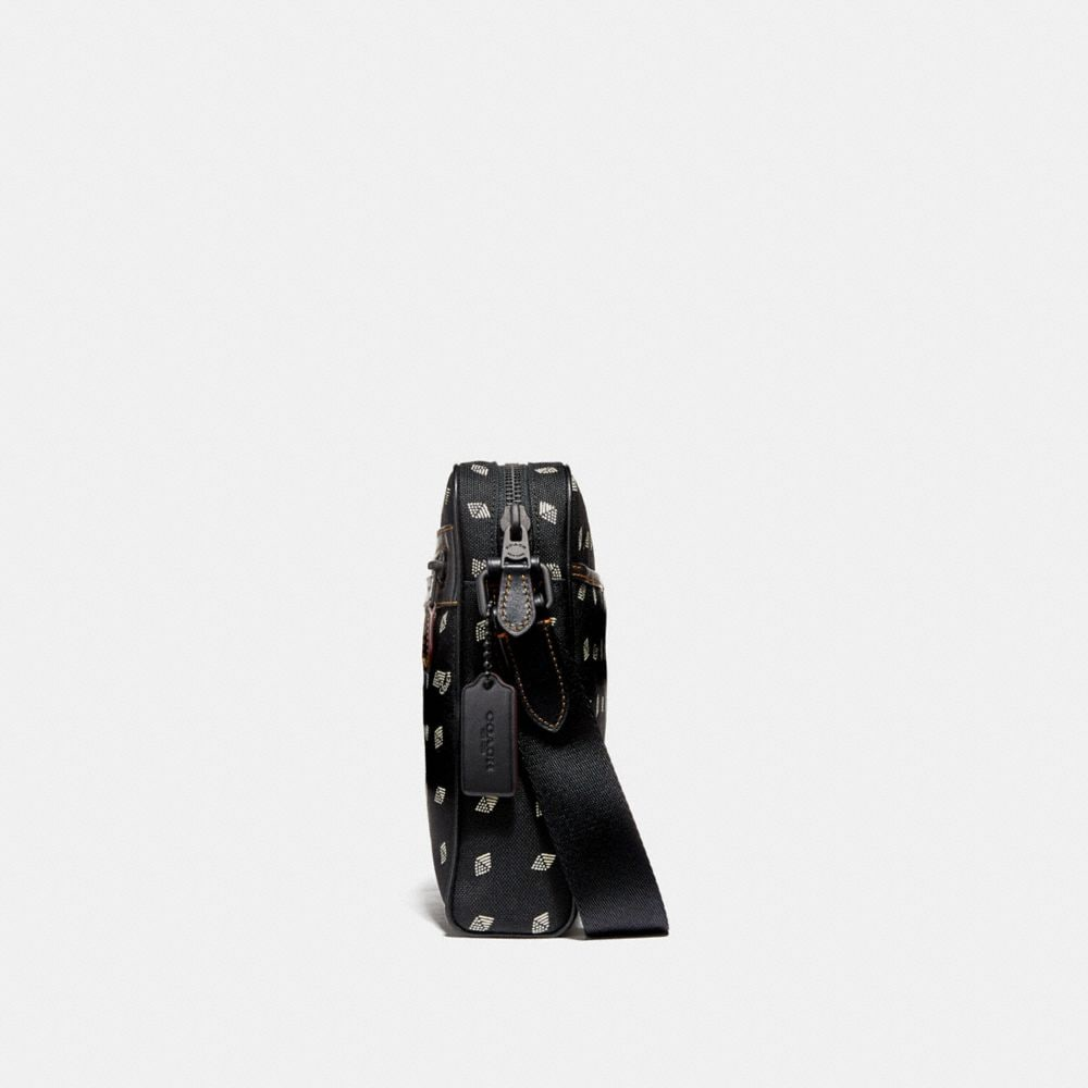 Coach Metropolitan Camera Bag in Cordura® Fabric With Dot Diamond Print Alternate View 1