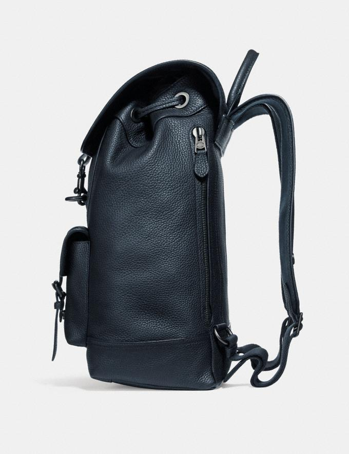 Coach Mochila Bleecker Midnight Navy/Black Copper Hombre Bolsos Mochilas Vistas alternativas 1