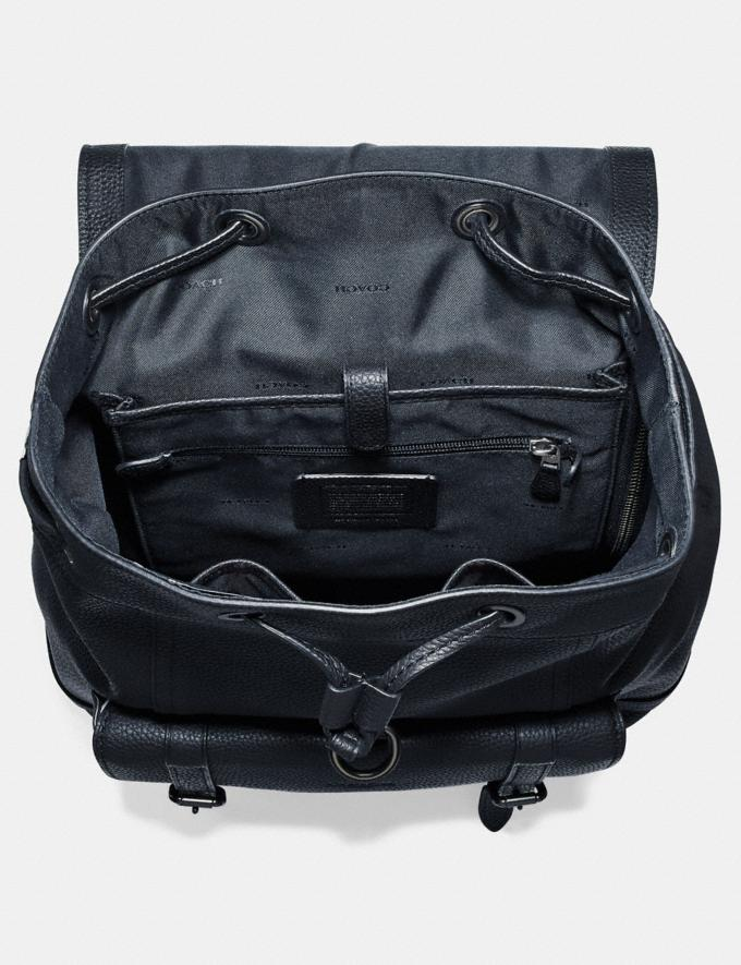 Coach Mochila Bleecker Midnight Navy/Black Copper Hombre Bolsos Mochilas Vistas alternativas 2