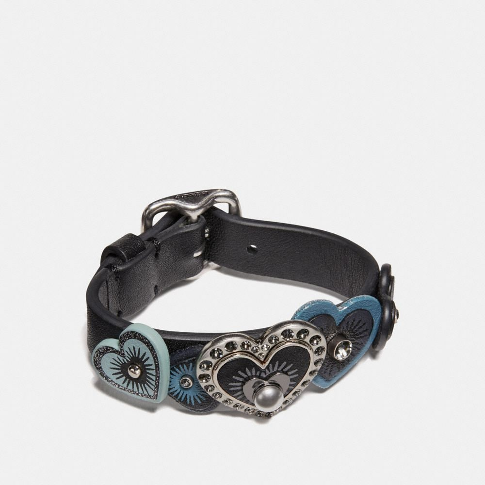 Coach Heart Buckle Bracelet