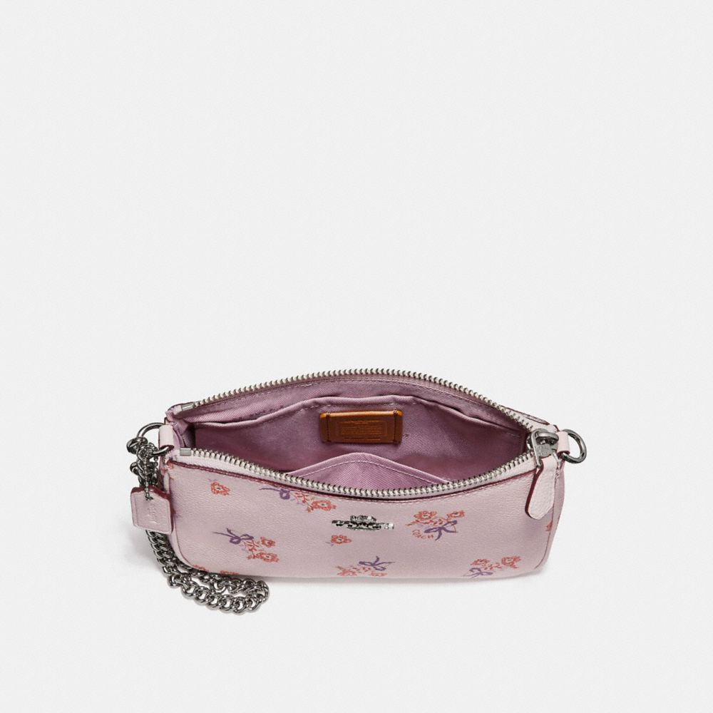 Coach Nolita Wristlet 19 With Floral Bow Print Alternate View 1