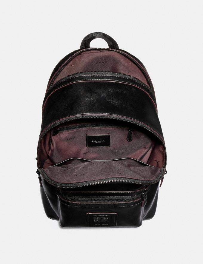 Coach Academy Backpack Black/Matte Black SALE Men's Sale Alternate View 2