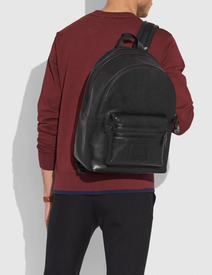 Coach Academy Backpack Black/Matte Black SALE Men's Sale Alternate View 3