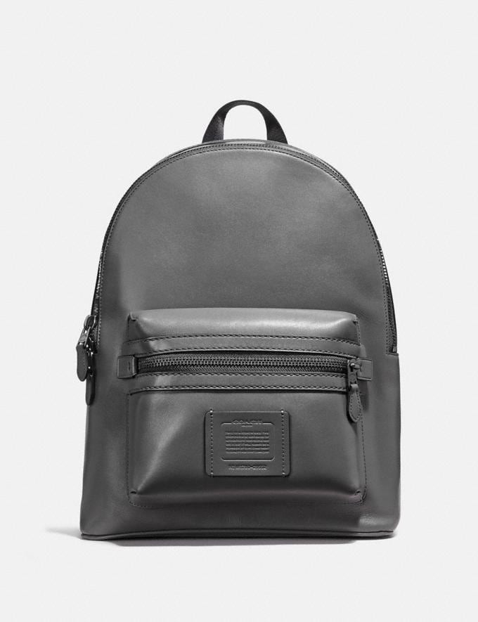 Coach Academy Backpack Black/Matte Black SALE Men's Sale