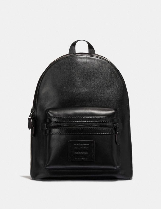Coach Academy Backpack Black/Matte Black Men Bags Backpacks