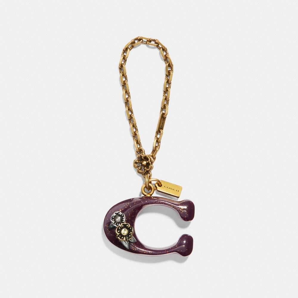 Coach Western Bubble Signature Bag Charm