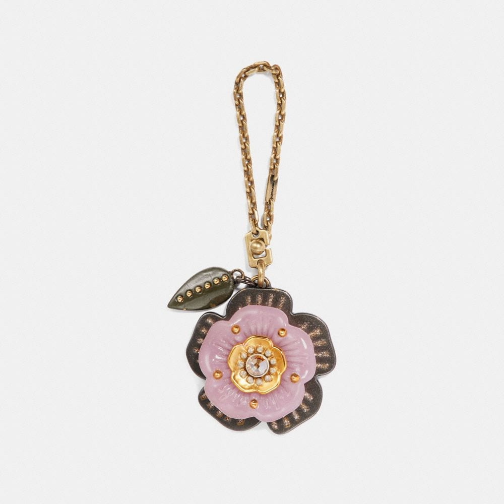 Coach Tea Rose Bag Charm