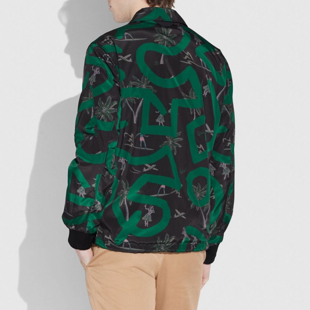 Coach Coach X Keith Haring Jacket Alternate View 2