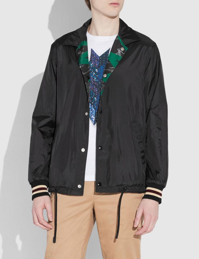 Coach Coach X Keith Haring Jacket Keith Haring Hula Dance Black Green Men Ready-to-Wear Coats & Jackets Alternate View 3