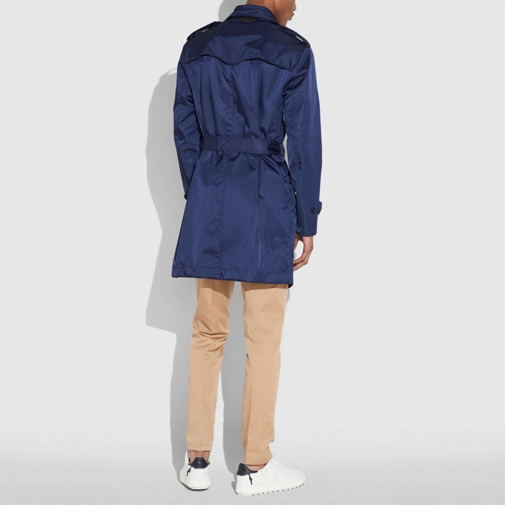 Coach Overcoat Alternate View 2