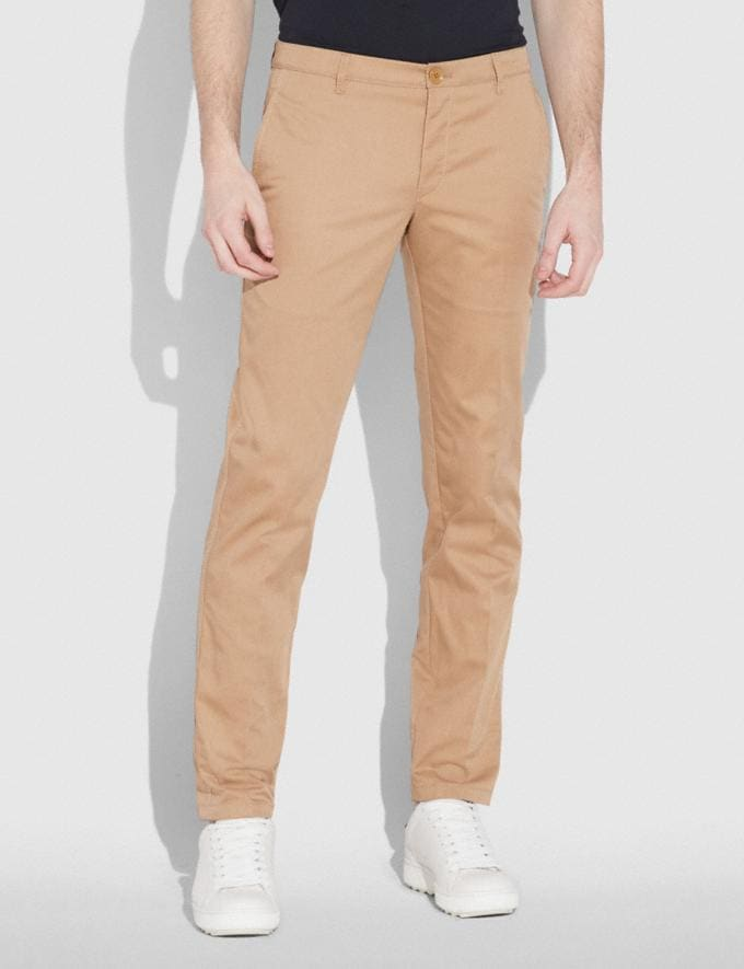 Coach Trouser Khaki Staff Sale Alternate View 1