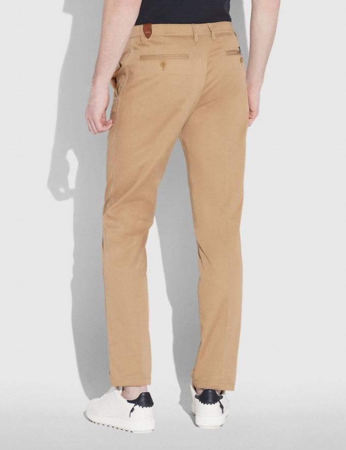 Coach Trouser Khaki Staff Sale Alternate View 2