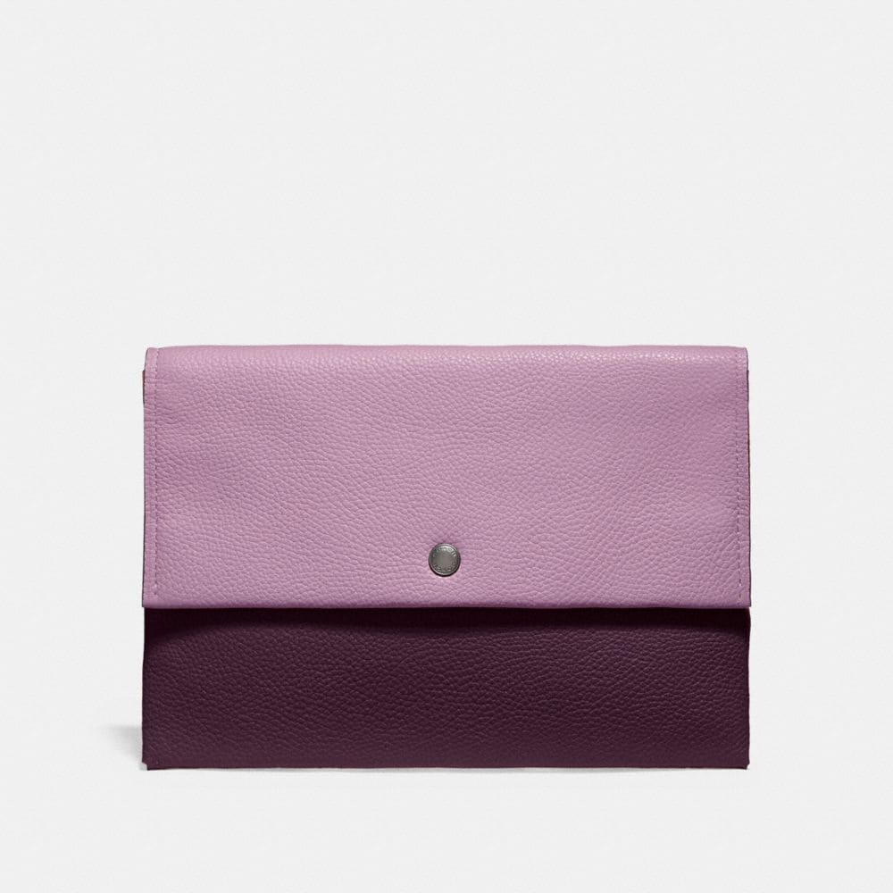 Coach Envelope Pouch in Colorblock