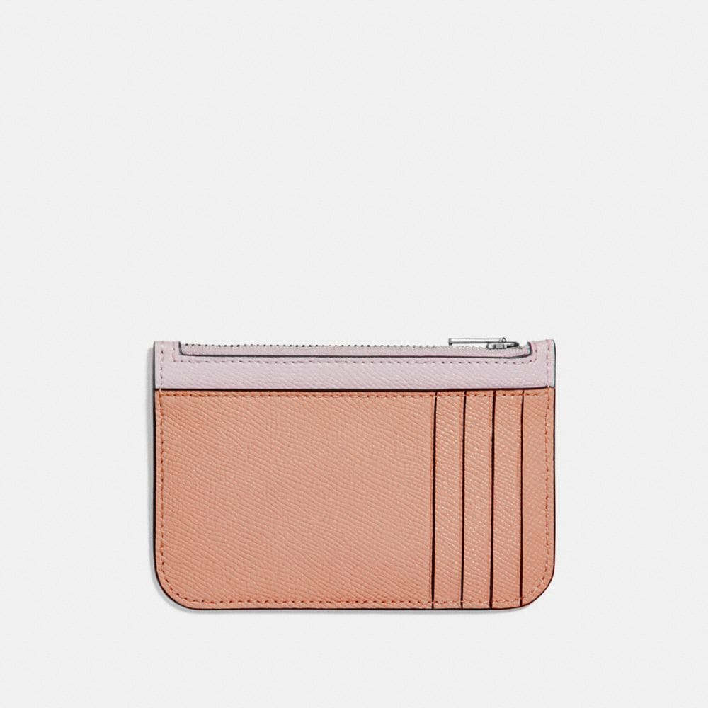 Coach Zip Card Case in Colorblock Alternate View 1