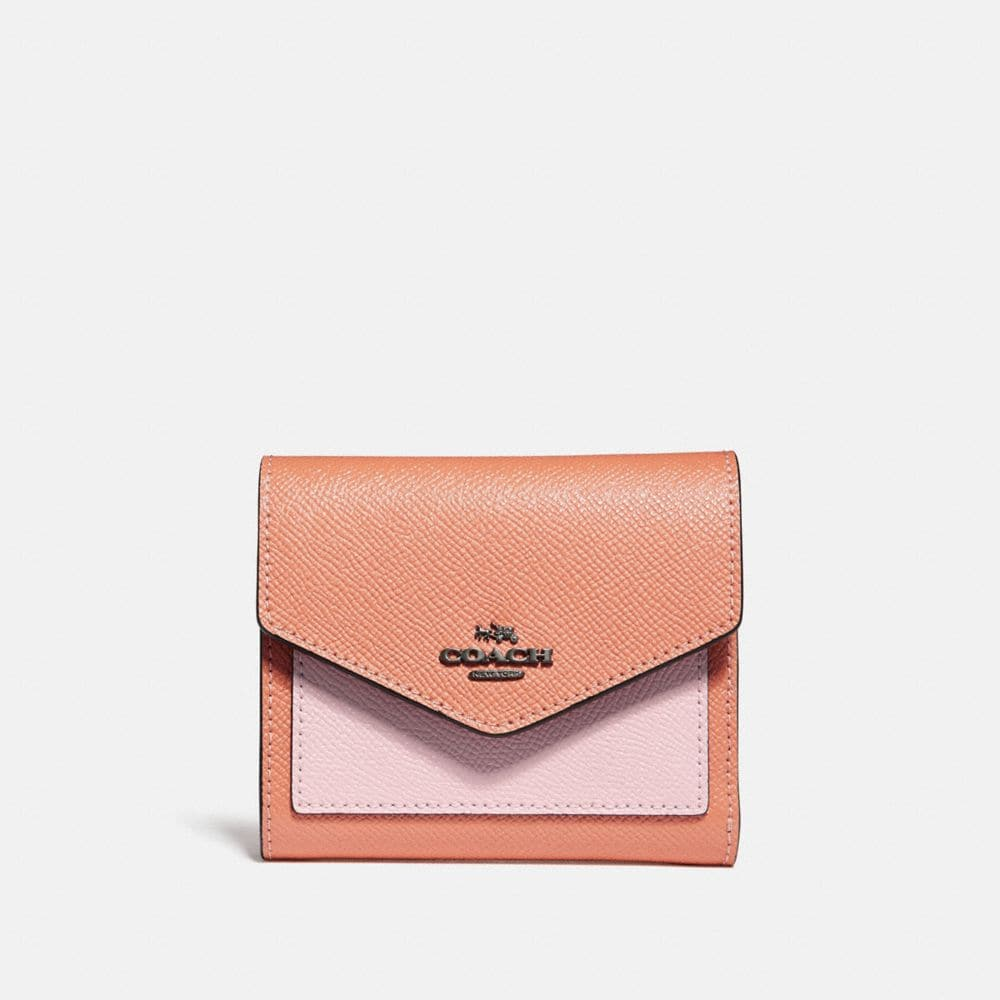 Coach Small Wallet With Printed Interior