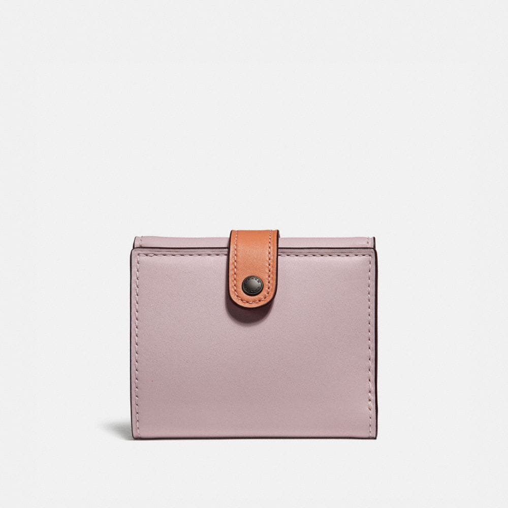 SMALL TRIFOLD WALLET IN COLORBLOCK