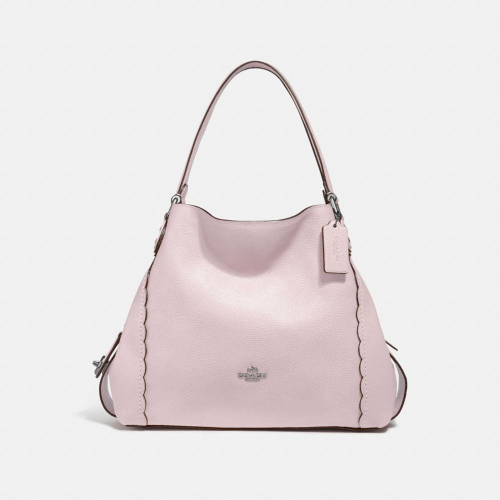 COACH EDIE SHOULDER BAG 31 WITH SCALLOPED DETAIL - WOMEN'S