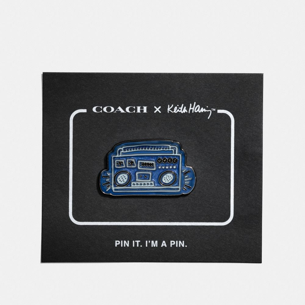 COACH X KEITH HARING PIN