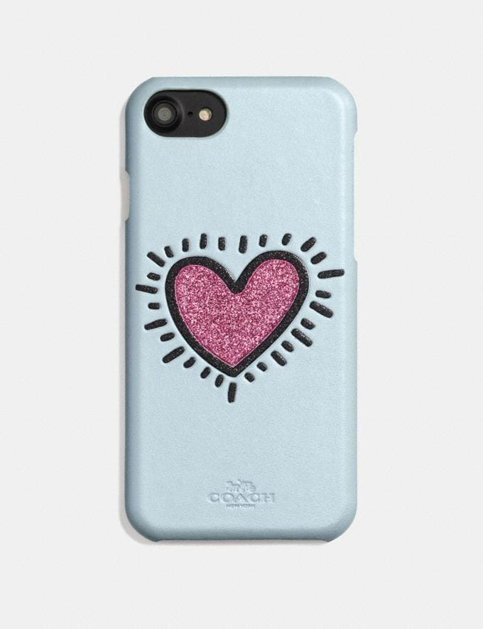 Coach Coach X Keith Haring iPhone 6s/7/8 Case Ice Blue