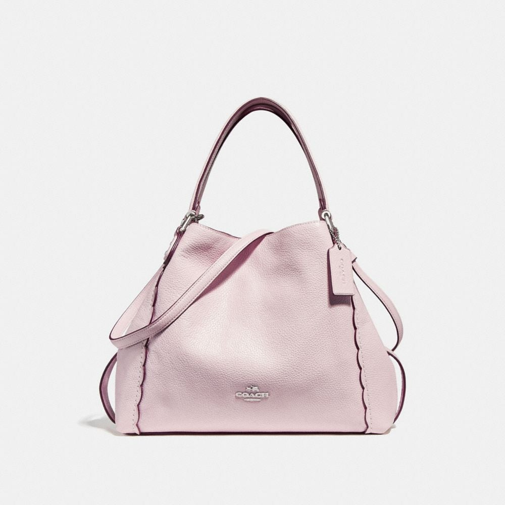 Edie Shoulder Bag 28 With Scalloped Detail by Coach