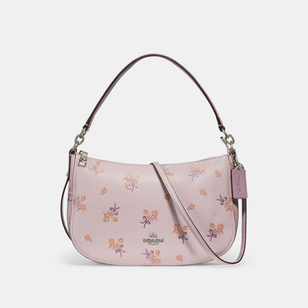 Coach Chelsea Crossbody With Floral Bow Print