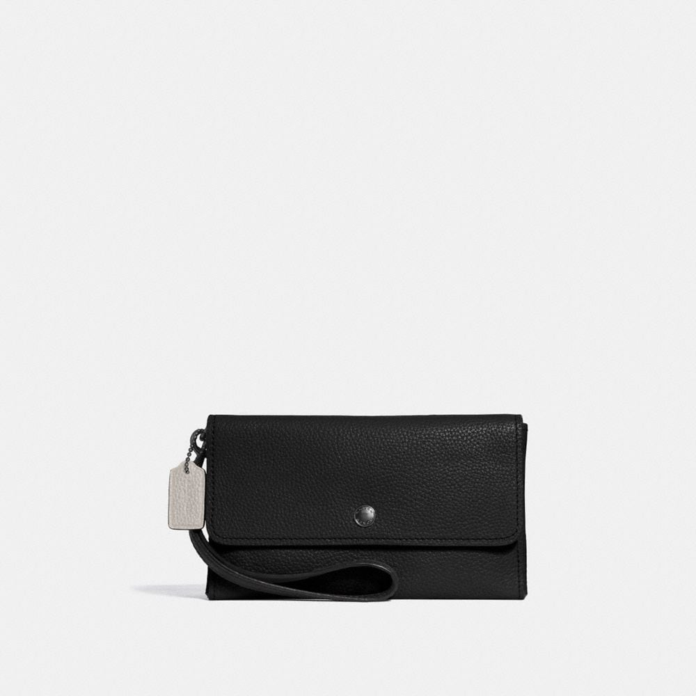 Coach Triple Small Wristlet in Colorblock