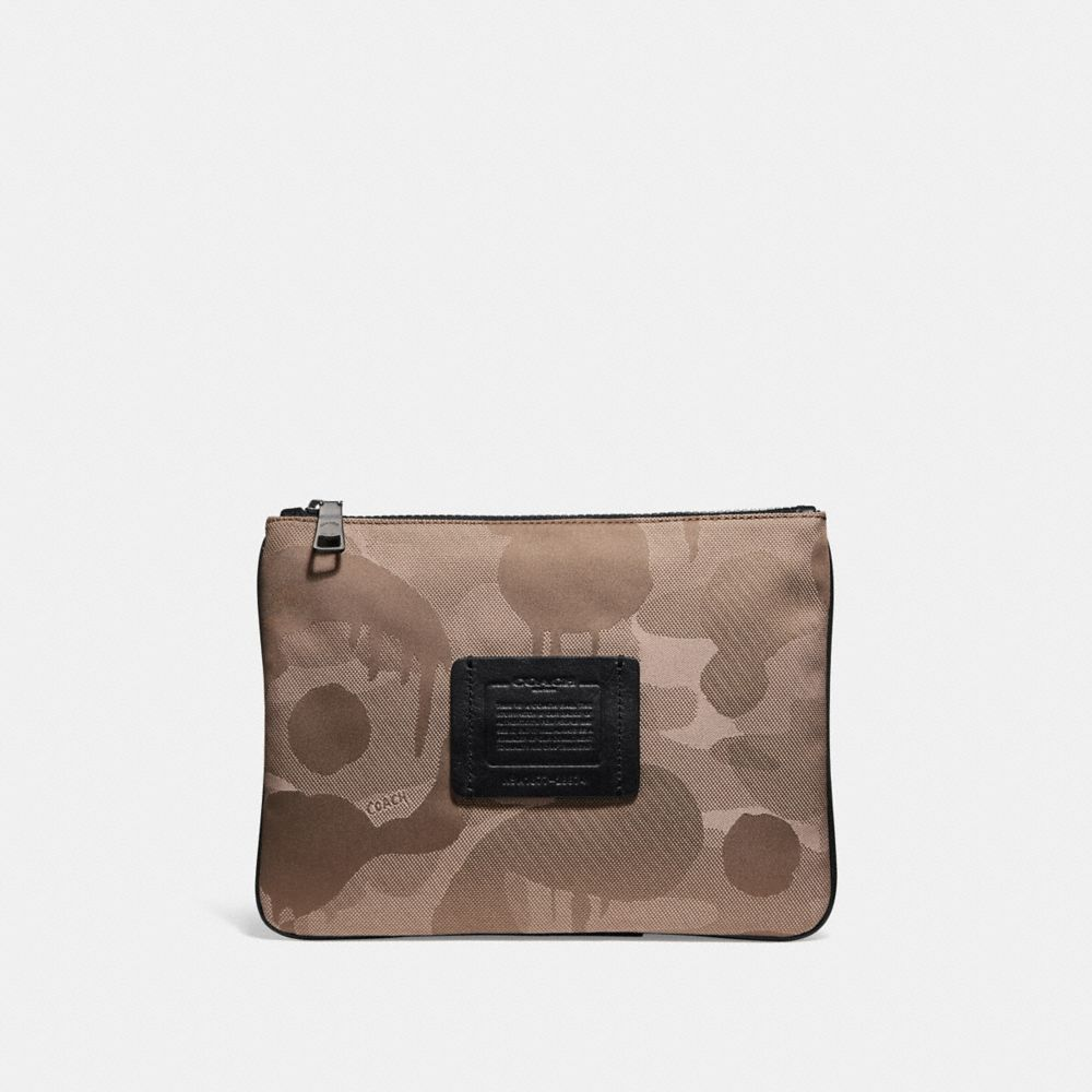 Coach Multifunctional Pouch in Cordura® Fabric With Wild Beast Print