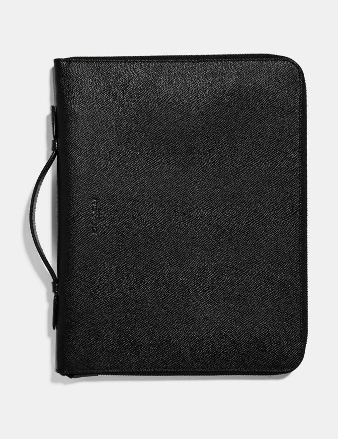 Coach Business Portfolio Black SALE 30% off Select Full-Price Styles Men's