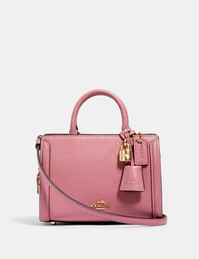 Coach Micro Zoe Crossbody Im/Rose