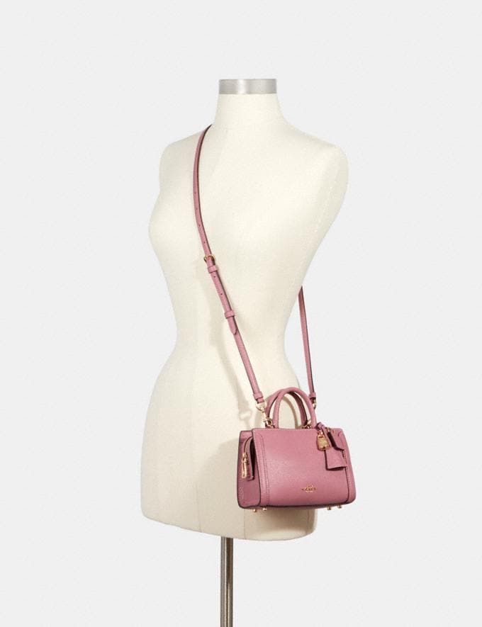 Coach Micro Zoe Crossbody Im/Rose  Alternate View 2