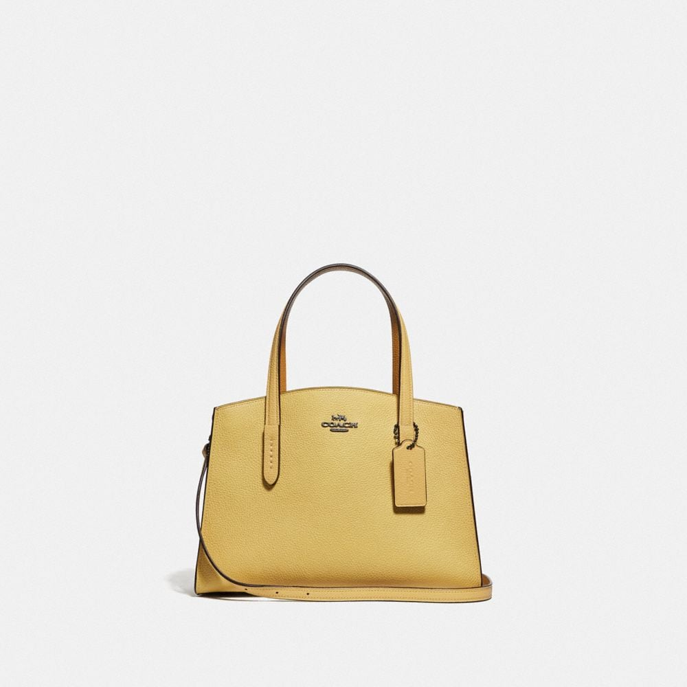 Coach Charlie Carryall 28 With Printed Interior