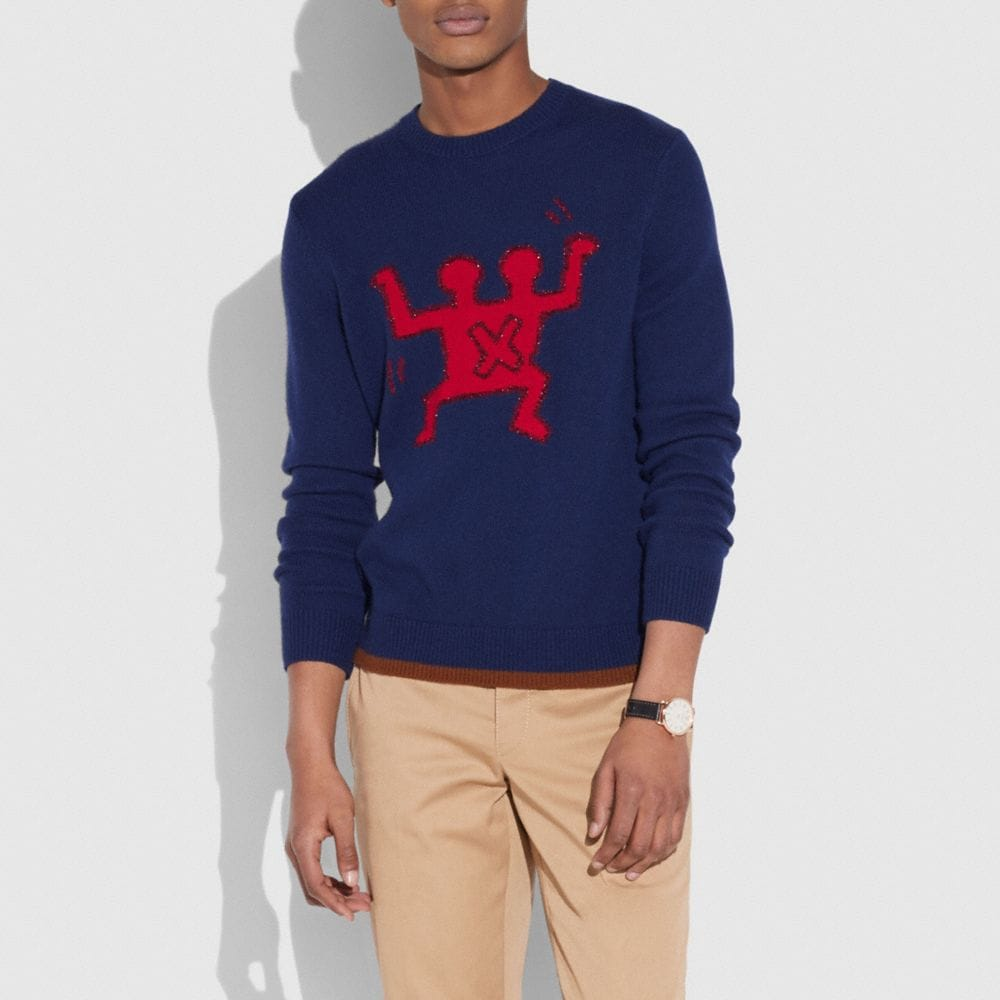 COACH X KEITH HARING SWEATER