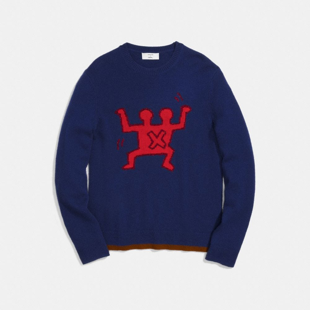 Coach Coach X Keith Haring Sweater Alternate View 1