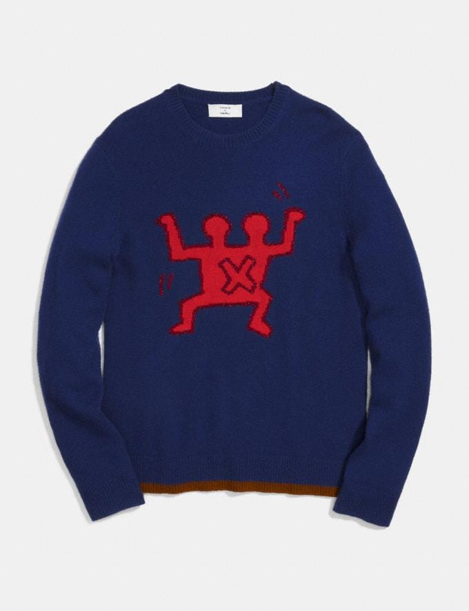 Coach Coach X Keith Haring Sweater Navy  Alternate View 1