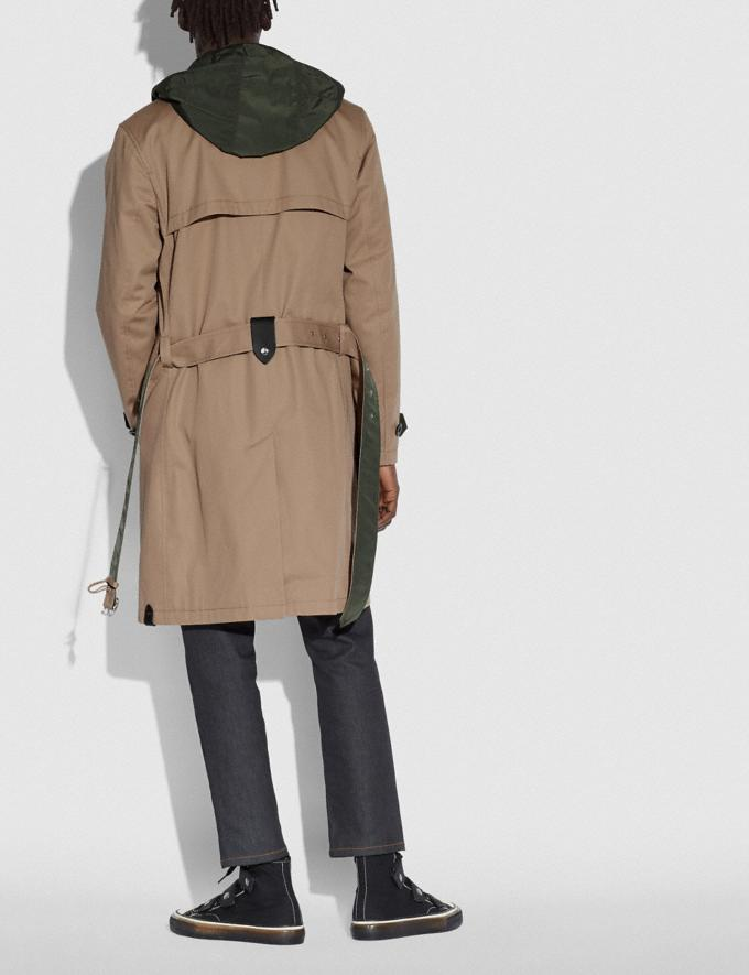 Coach Utility Trench Khaki/Olive Men Ready-to-Wear Jackets & Outerwear Alternate View 2