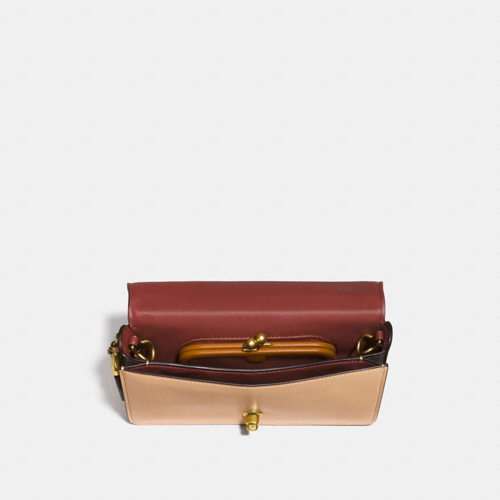 Coach Dinky in Signature Leather Alternate View 2